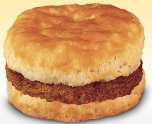 Sausage Biscuit at Arby's