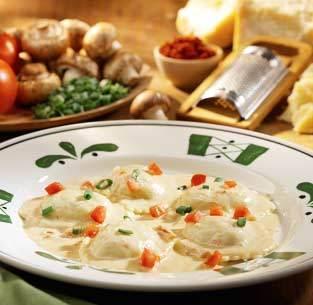 Ravioli di Portobello at Isaac's Restaurant & Deli