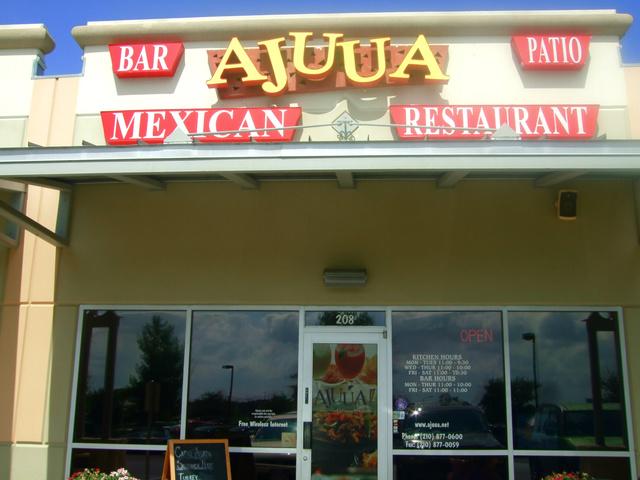 Exterior at Ajuua Mexico Fare Latin Flair