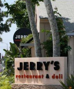 Exterior at Jerry's Famous Deli