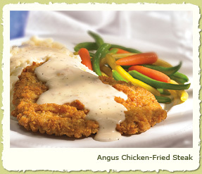 Photo of ANGUS CHICKEN-FRIED STEAK