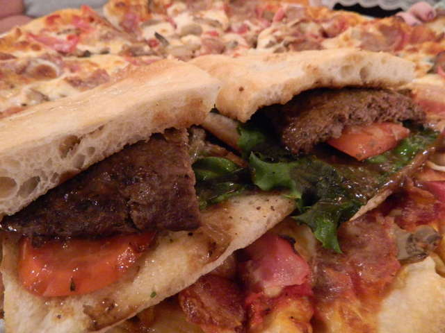 Photo of Pizza Bread BeefBurger