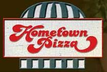 Logo at Hometown Pizza