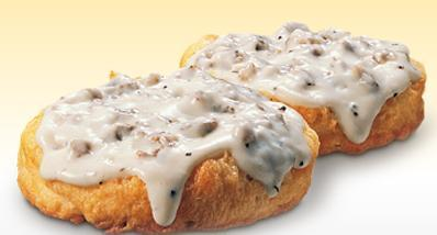 Sausage Gravy Biscuit at Arby's