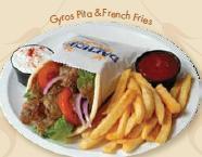 Photo of Gyros Pita & French Fries