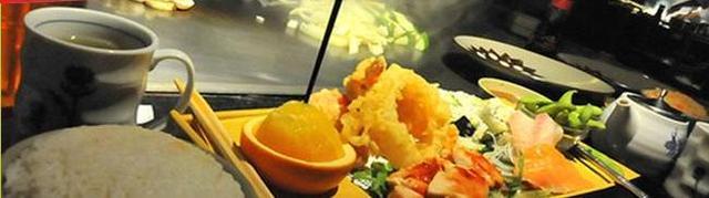 Dish at Benihana