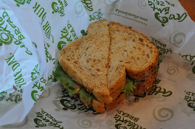 Great bread makes this an outstanding sandwich.  As good as any I have ever tasted. - Veggie at Atlanta Bread Company