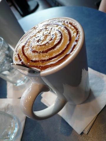 Milky Way Cappuccino at Rock N Joe