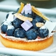 Blueberry Tart at R2L