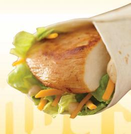 Grilled Chicken Go Wrap at Wendy's
