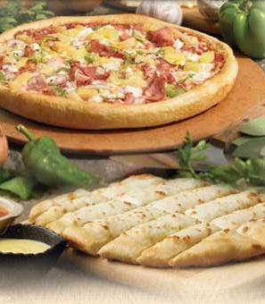 Dish at Hometown Pizza
