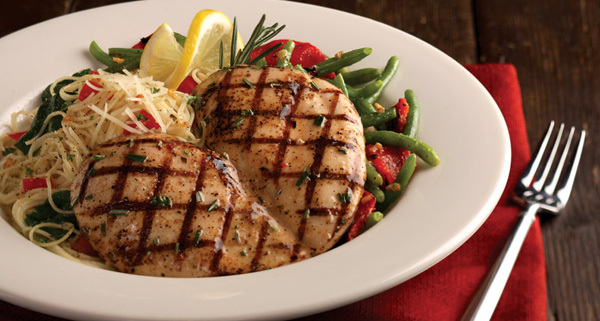 Lemon Rosemary Chicken at Carino's Italian Grill
