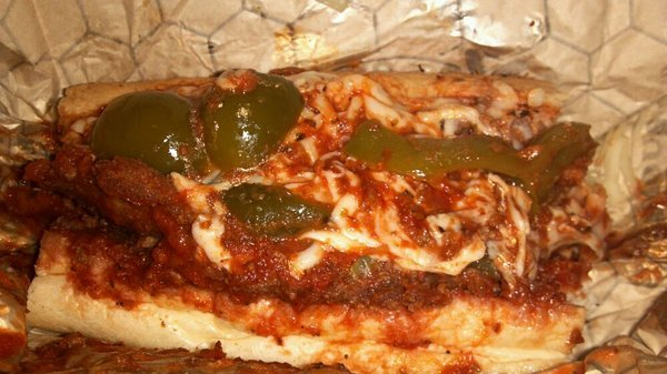 from Ricobene's site - Eggplant Parmesan Sandwich at Ricobene's