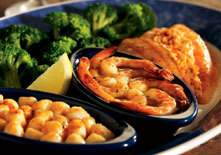 Broiled Seafood Platter at Red Lobster