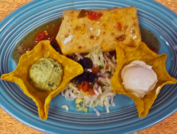 Chimichanga at Cintia's of Mexico Restaurant (CLOSED)