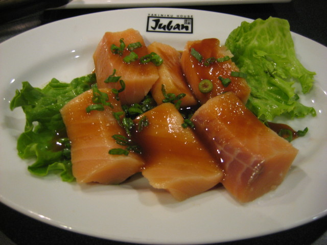 miso salmon at Juban Yakiniku House
