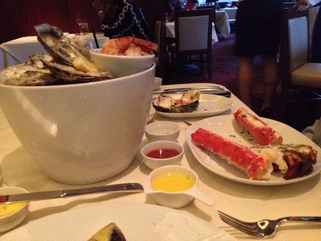 Seafood platter at Jack Binion's Steak (CLOSED)