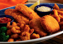 Classic Fried Seafood Platter at Red Lobster