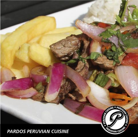 Lomo Saltado at Pardos Peruvian Cuisine