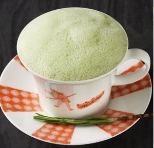 Photo of 100% fresh emerald edamame soup