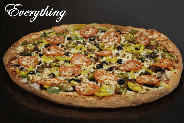 Specialty Everything pizza at Five Star Pizza