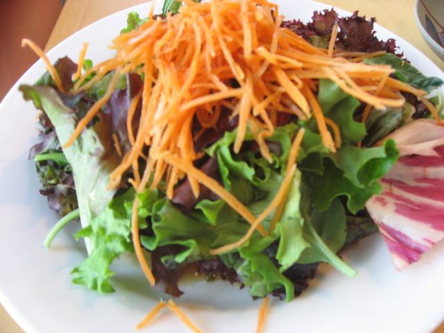 Green Salad at Tadashi Sushi