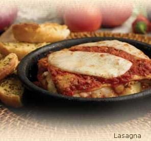 Lasagna at Hometown Pizza