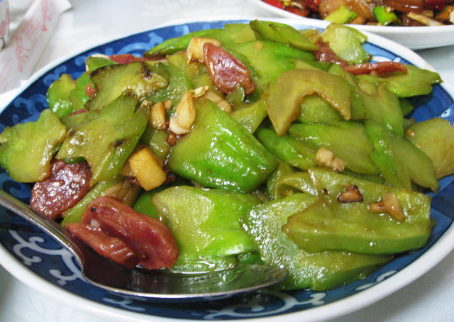 Photo of Bitter Melon with Chinese Sausage