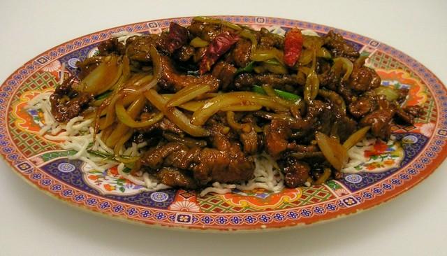 Mongolian Beef at China Light