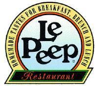Logo at Le Peep