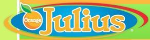 Logo at Orange Julius
