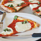Margherita Pizza - Margherita Pizza at Antonios Pizza & Italian Restaurant