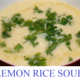 lemon rice at The Grill