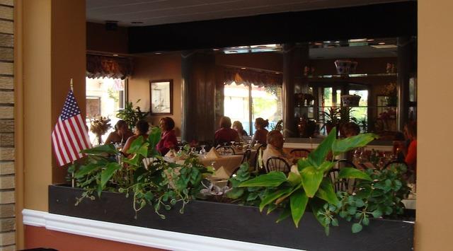 Interior at Caffe Capri