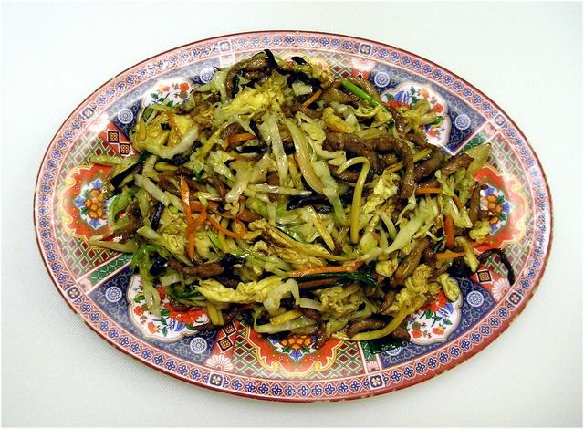 Moo Shu Pork at China Light