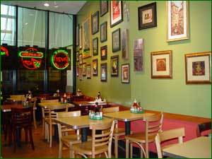 Interior at Big Mamma's & Pappa's Pizza