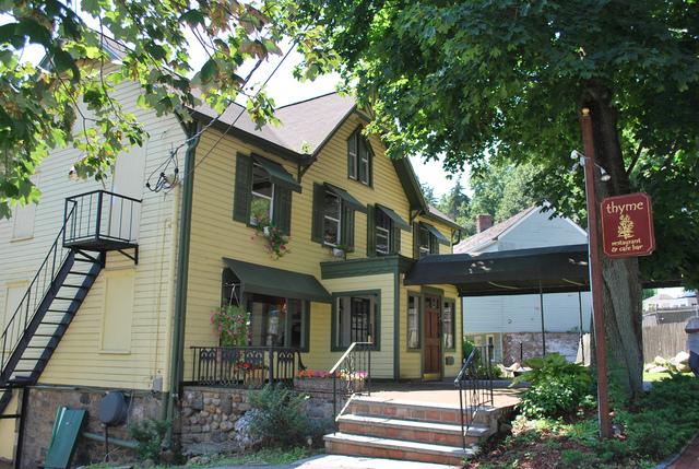 Exterior at Thyme Restaurant & Cafe Bar