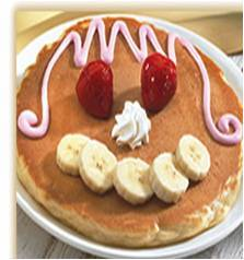 Make it an IHOP day! - Creat-A-Face Pancake at IHOP DCUSA
