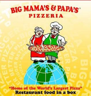 Logo at Big Mamma's & Pappa's Pizza