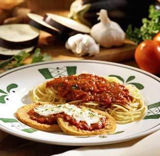 Eggplant Parmigiana at Isaac's Restaurant & Deli