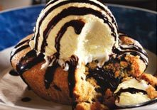 Warm Chocolate Chip Lava Cookie at Red Lobster