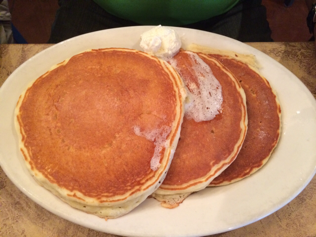 Buttermilk Pancakes at Crackers & Co Cafe