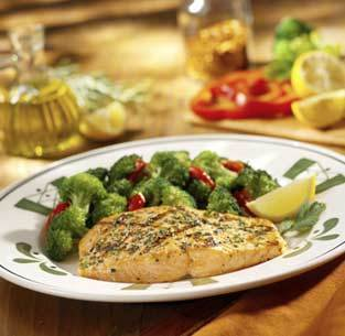 Herb-Grilled Salmon at Isaac's Restaurant & Deli