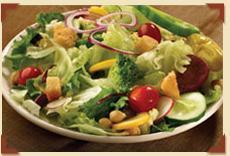 Farmer's Market Salad Bar at Charlie Brown's Steakhouse