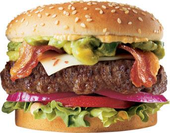The Guacamole Bacon Six Dollar Burger™ at Carl's Jr.