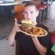 1 1/2 lb beef - Triple Super Burger Basket at Iggy's Diner