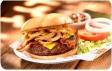 Western BBQ Burger at Hooters