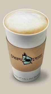 Cappuccino at Starbucks Coffee