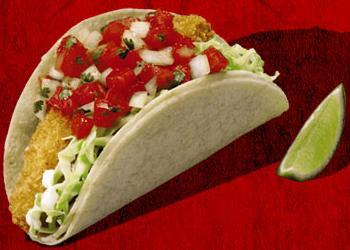 Crispy Fish Taco™ at Del Taco