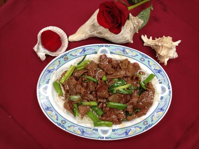 Mongolian Beef at Mandarin Garden